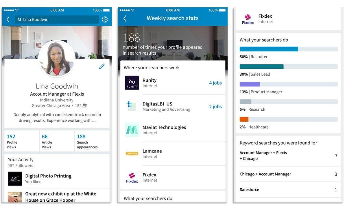 LinkedIn Adds Extra Insights to 'Profile Views' Data, Including Keywords Used to Find You