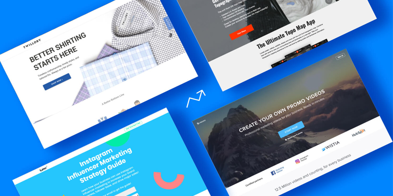 12 High-Converting Landing Pages (That'll Make You Wish You Built 'Em)