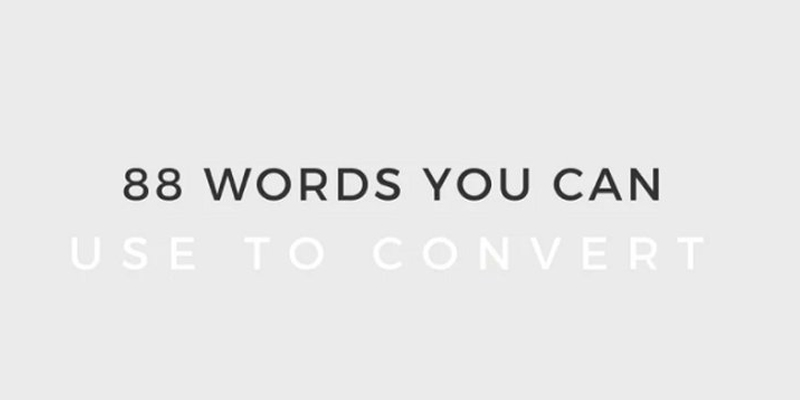 88 Words and Phrases You Can Use to Convert [Infographic]