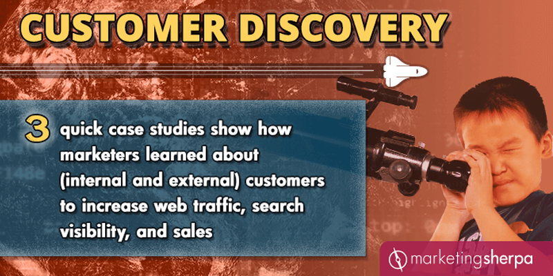 How marketers learned about customers to increase web traffic, search visibility, and sales