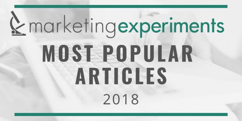 Most Popular MarketingExperiments Articles of 2018