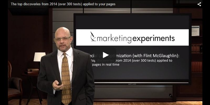 The top discoveries from 2014 (over 300 tests) applied to your pages (with Flint McGlaughlin)