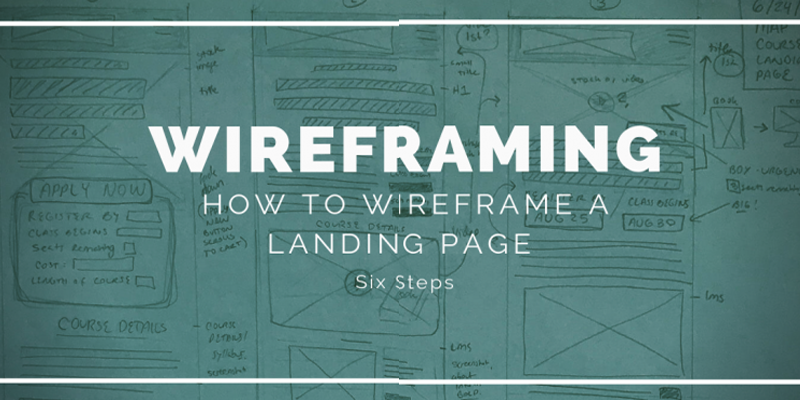 How to Wireframe a Landing Page: 6 steps