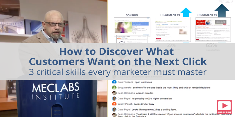 How to Discover Exactly What the Customer Wants to See on the Next Click