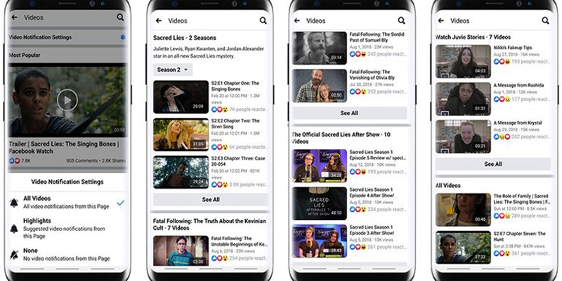 Facebook Adds New Video Features, Including 'Series' and Updates to Bulk Uploader