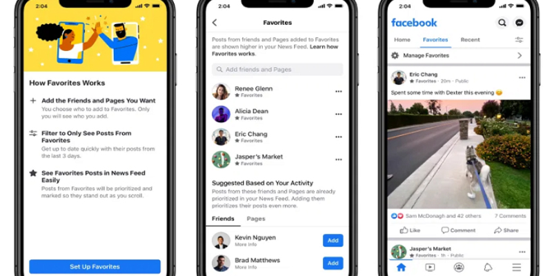 Facebook Adds 'Feed Filter Bar' News Feed Control Tool, New Options to Restrict Post Comments