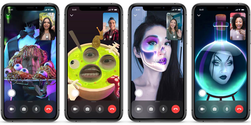 Messenger Adds New Features for Halloween, Including AR Masks and 360 Backgrounds