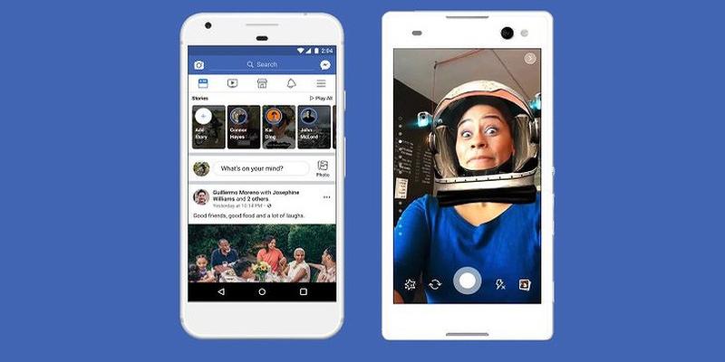 Facebook testing links in Stories