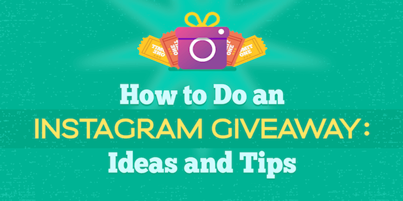 How to Do an Instagram Giveaway: Ideas and Tips