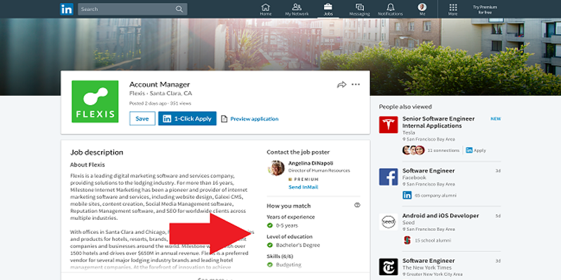 LinkedIn Releases New Tool to Highlight How Your Skills Match Advertised Positions