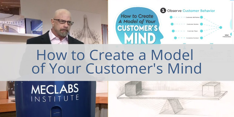 How to Create a Model of Your Customer's Mind