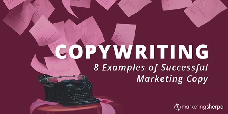 Copywriting: 8 examples of successful marketing copy