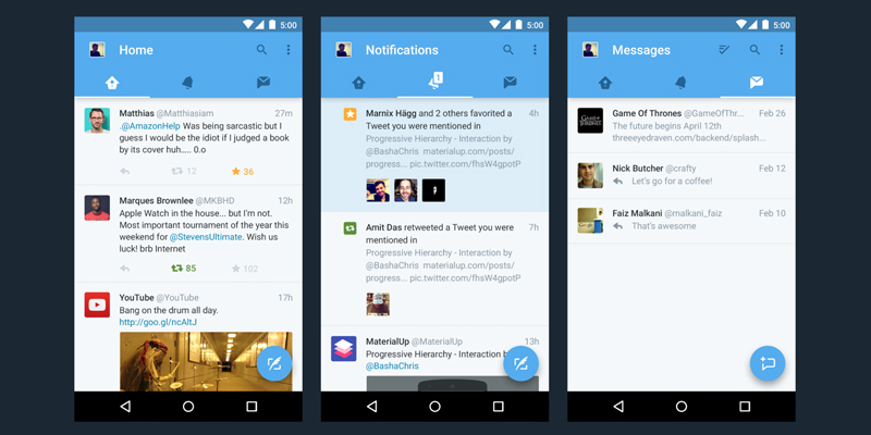 Twitter's Given their Apps a Major Overhaul - Here's What's Been Updated