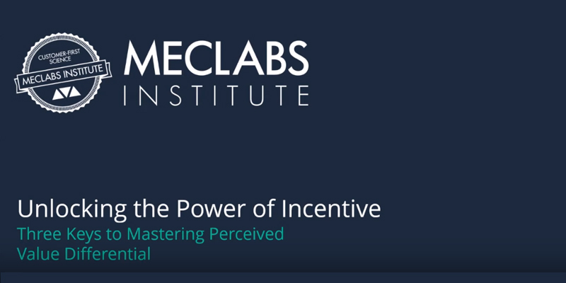 Unlocking the Power of Incentive: Three keys to mastering perceived value differential