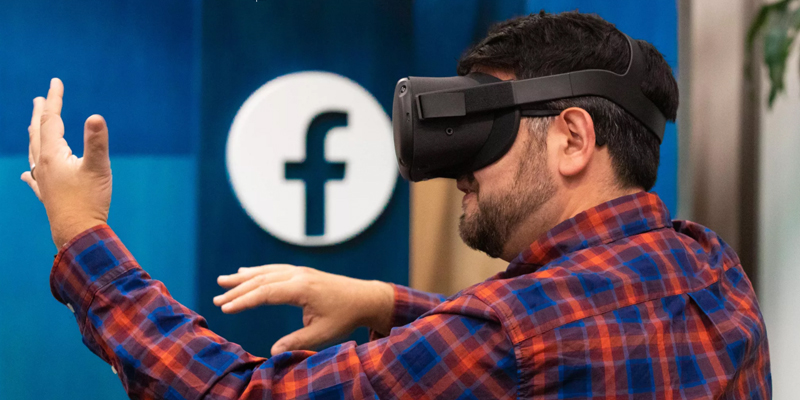 Facebook Announces New Advances in VR and AR, Including AR Glasses Coming Next Year