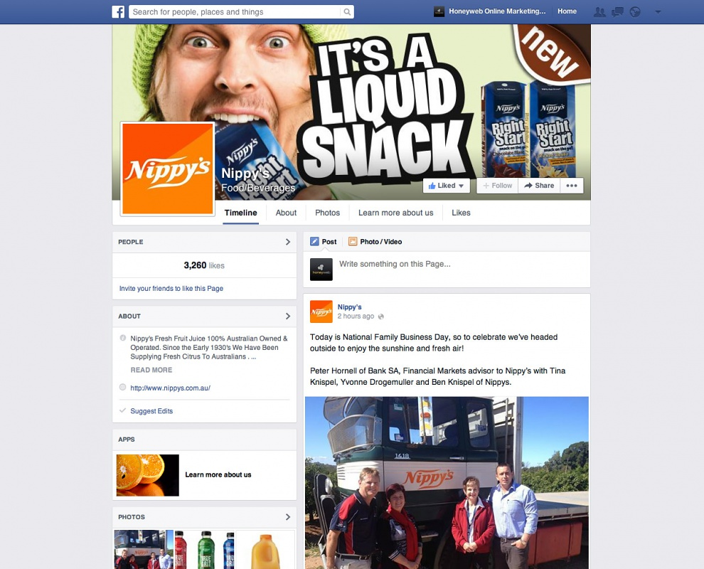 Nippys - Facebook Business Pages