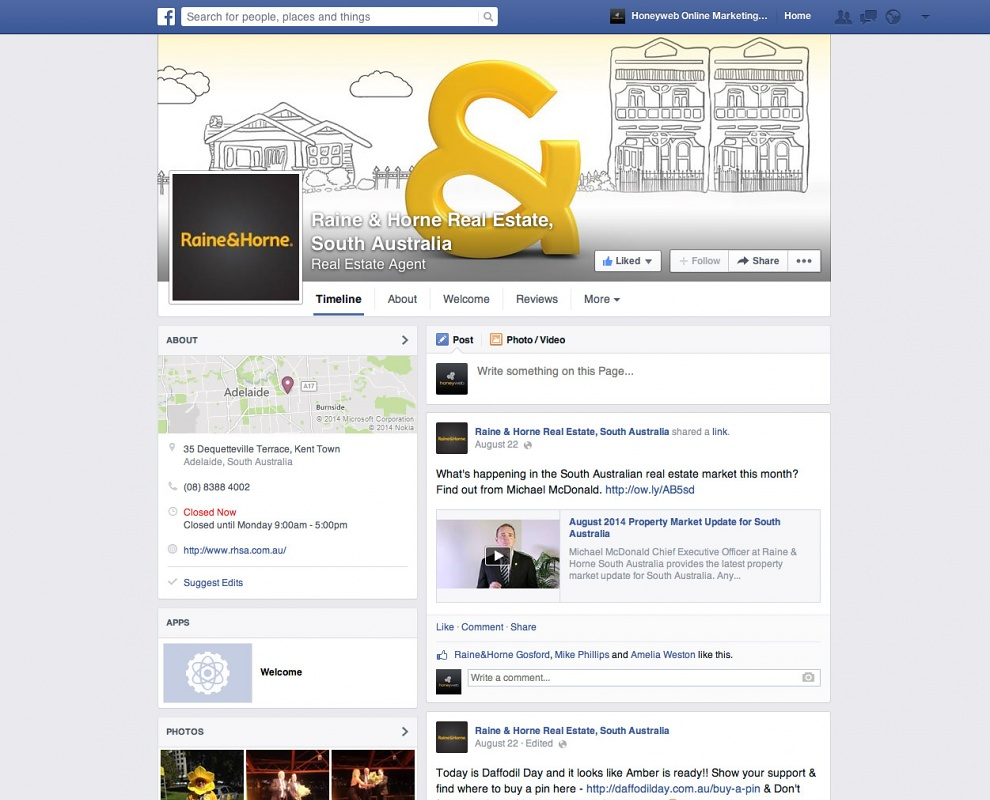 Raine & Horne Real Estate - Facebook Business Pages