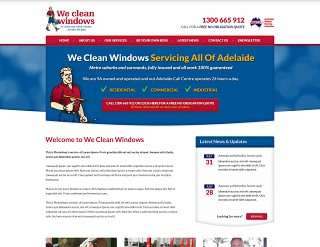 We Clean Windows